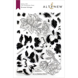 Ornate Foliage, Altenew Clear Stamps - 7.04831E+111