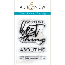 The Best Thing, Altenew Clear Stamps - 7.04831E+111