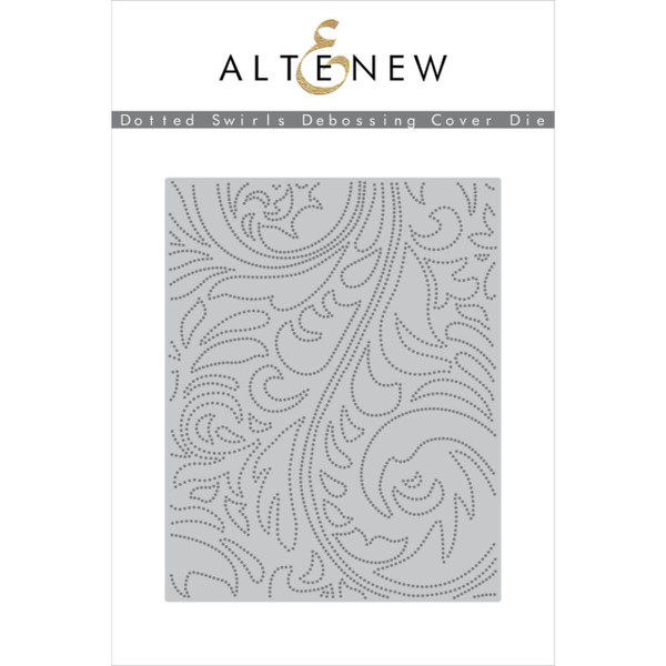Dotted Swirls Debossing Cover, Altenew Dies - 7.04831E+111