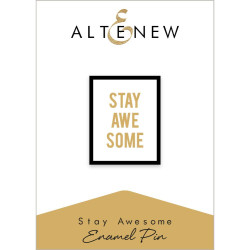 Stay Awesome, Altenew Enamel Pins - 6.55646E+118