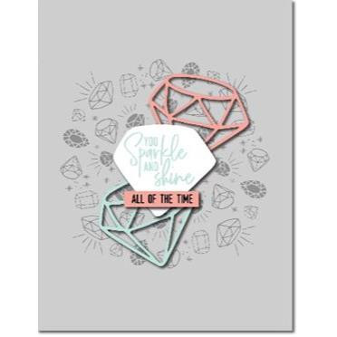 Gem Turnabout, Concord & 9th Clear Stamps - 902224002382