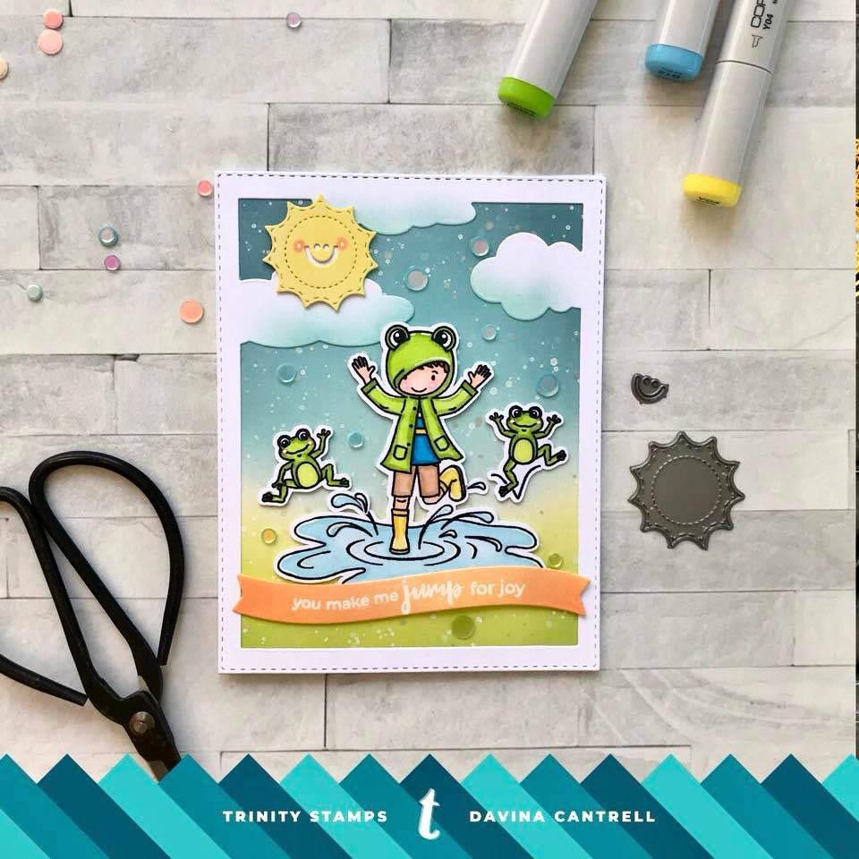 Puddle Jumpers, Trinity Stamps Clear Stamps -