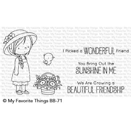 Bring Out The Sunshine By Birdie Brown, My Favorite Things Clear Stamps - 849923030820