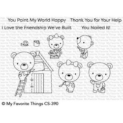 Builder Bears, My Favorite Things Clear Stamps - 849923030844