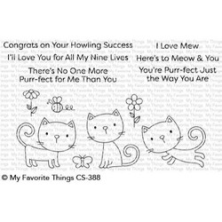 Purr-fect, My Favorite Things Clear Stamps - 849923030479