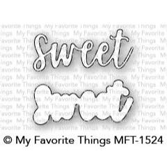 Sweet, My Favorite Things Die-Namics - 849923030929