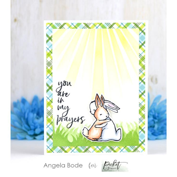 Peach and Piper, Picket Fence Studios Clear Stamps - 745557993725