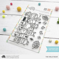 The Wild Roar, Mama Elephant Clear Stamps -