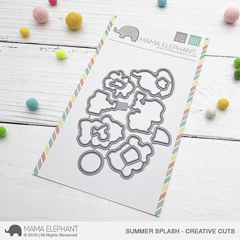 Summer Splash, Mama Elephant Creative Cuts -