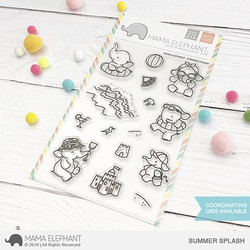 Summer Splash, Mama Elephant Clear Stamps -