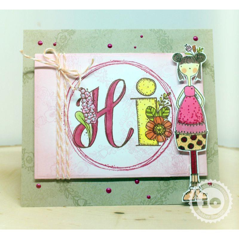 Courissa, Impression Obsession Cling Stamps -