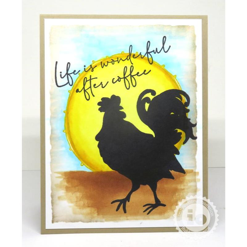 Life Is Wonderful, Impression Obsession Cling Stamps -