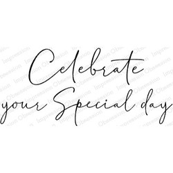 Special Day, Impression Obsession Cling Stamps -
