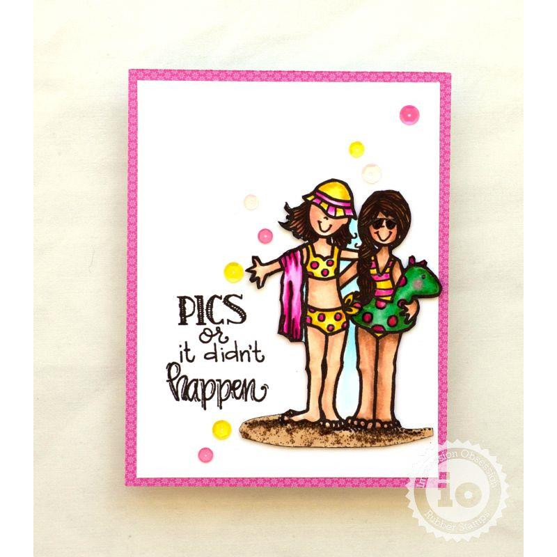 Indeed, Impression Obsession Clear Stamps -