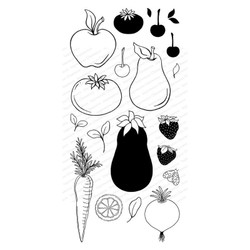 Garden Produce, Impression Obsession Clear Stamps -