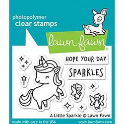 A Little Sparkle, Lawn Fawn Clear Stamps - 352926712018