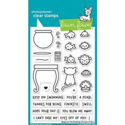 Keep On Swimming, Lawn Fawn Clear Stamps - 352926726428