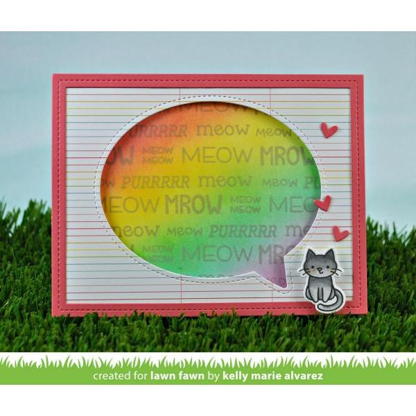 Critter Chatter: Pets, Lawn Fawn Clear Stamps - 352926727340