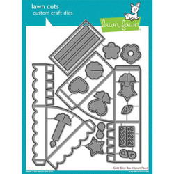 Cake Slice Box, Lawn Cuts Dies - 352926728262