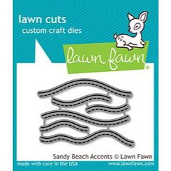 Sandy Beach Accents, Lawn Cuts Dies - 352926728958