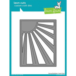 Sunray Backdrop, Lawn Cuts Dies - 352926729702