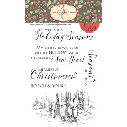 Holiday Tree, Colorado Craft Company Clear Stamps - 8.57287E+115