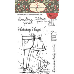 Hugging Elves, Colorado Craft Company Clear Stamps - 8.57287E+115