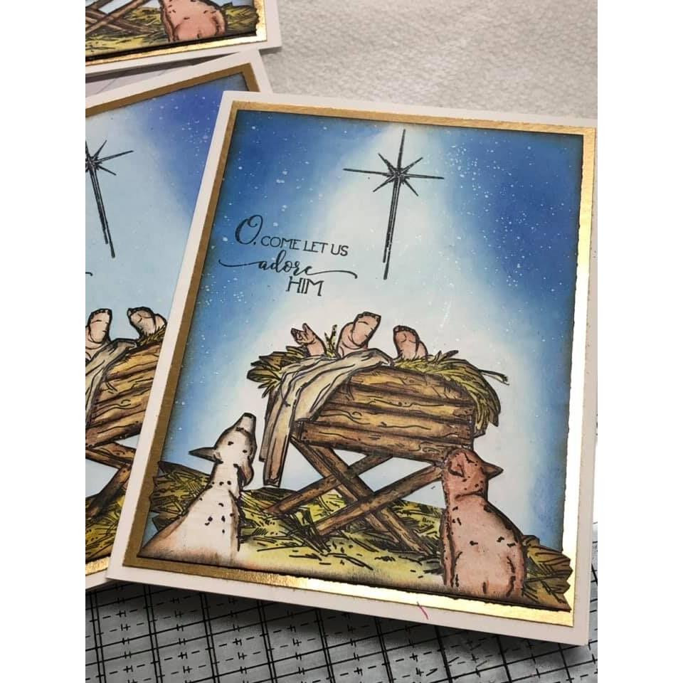 Bethlehem's Light, Colorado Craft Company Clear Stamps - 8.57287E+115
