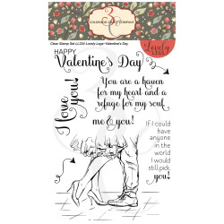 Valentine's Day, Colorado Craft Company Clear Stamps - 8.57287E+115