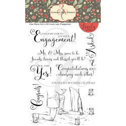 Engagement, Colorado Craft Company Clear Stamps - 8.57287E+115