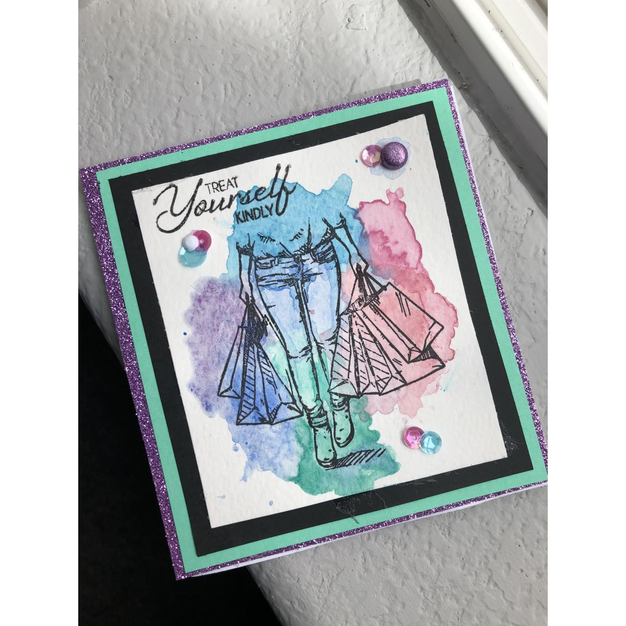 Shopping Therapy, Colorado Craft Company Clear Stamps - 8.57287E+115