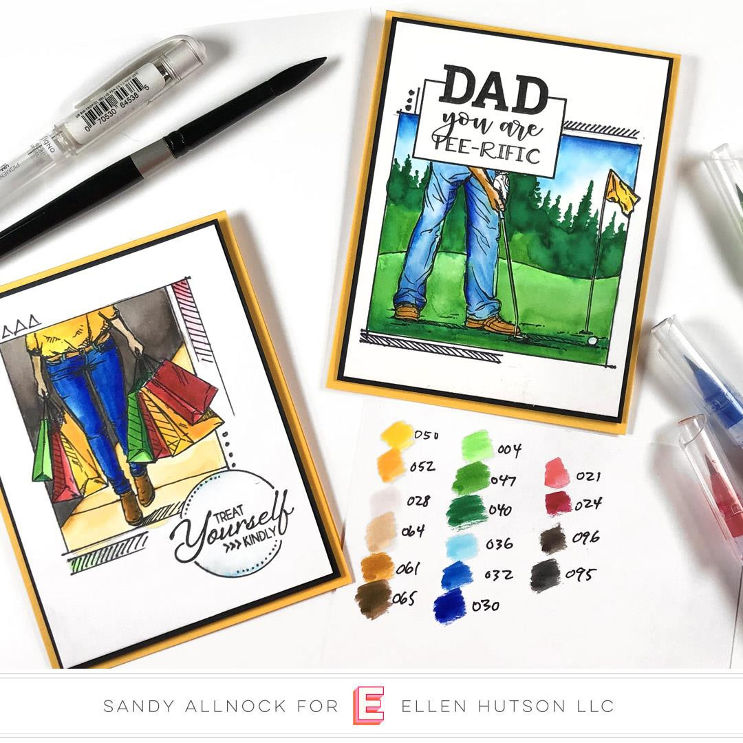 Tee-Rific Dad, Colorado Craft Company Clear Stamps - 8.57287E+115