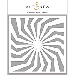 Illusion Spiral, Altenew Stencils - 704831301472