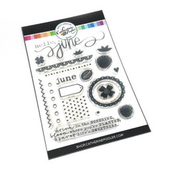 Hello June, Catherine Pooler Clear Stamps -