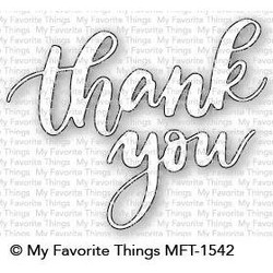 Thank You, My Favorite Things Die-Namics - 849923031155