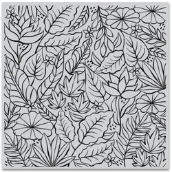 Jungle Bold Prints, Hero Arts Cling Stamps - 857009227774