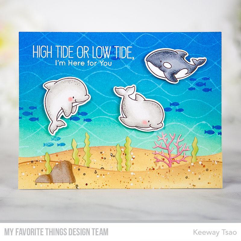 Friends With Fins, My Favorite Things Clear Stamps - 849923030998