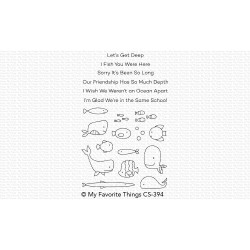 Fish You Were Here, My Favorite Things Clear Stamps - 849923031018
