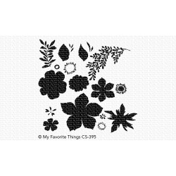 Tropical Flowers, My Favorite Things Clear Stamps - 849923031025