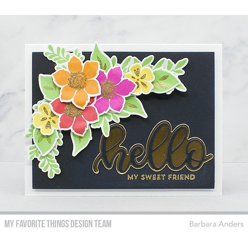 Well Hello, My Favorite Things Clear Stamps - 849923031032