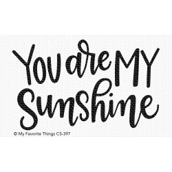 You Are My Sunshine, My Favorite Things Clear Stamps - 849923031049