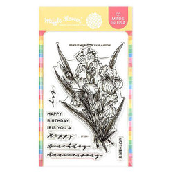 Iris You, Waffle Flower Clear Stamps - 653341208330