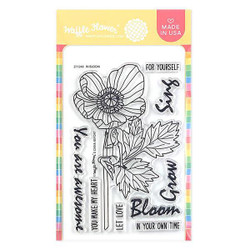 In Bloom, Waffle Flower Clear Stamps - 644216553426
