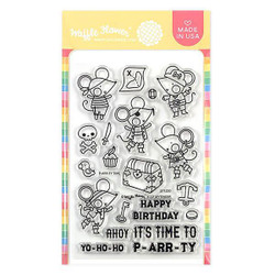 P-arr-ty Time, Waffle Flower Clear Stamps - 644216553624