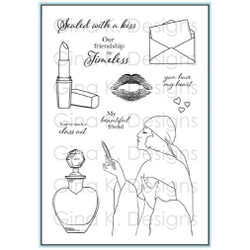 Timeless Beauty, Gina K Designs Clear Stamps - 609015541302