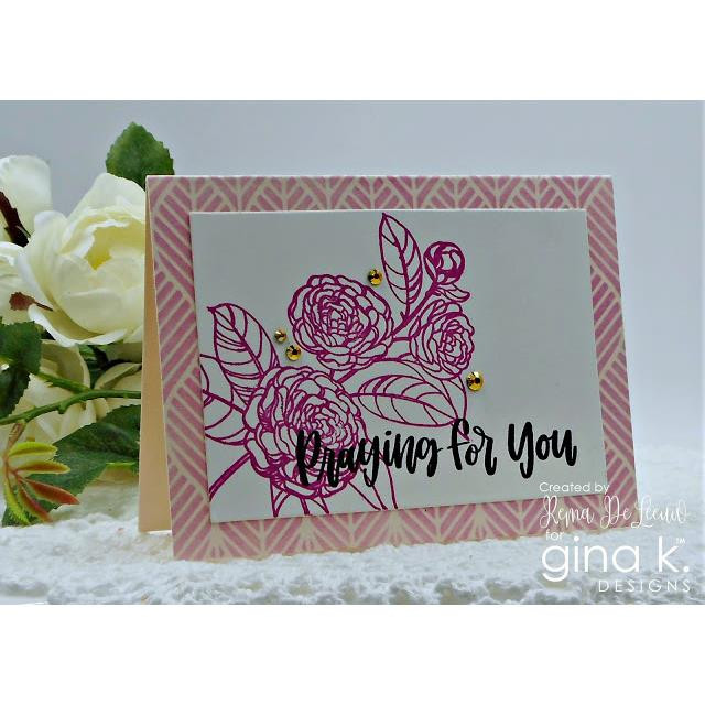 Have Faith, Gina K Designs Clear Stamps - 609015541340