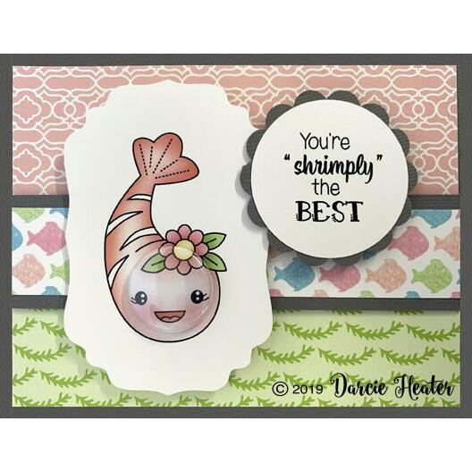 Crabulous, Darcie's Clear Stamps -