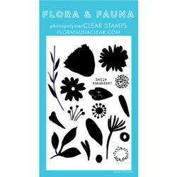 Brush Petal 2, Flora & Fauna Clear Stamps - 725835782593