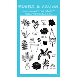 Plant Lady, Flora & Fauna Clear Stamps - 725835782654