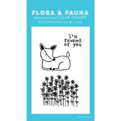 Mini Fawned Of You, Flora & Fauna Clear Stamps - 725835782715